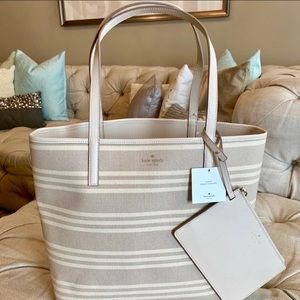 BRAND NEW Kate Spade Arch Place reversible tote